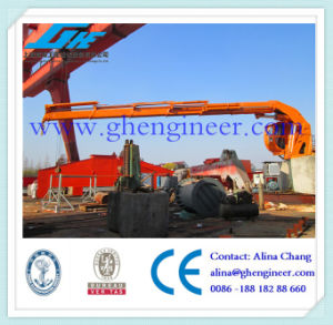 Pedestal Crane Offshore Crane Folding Boom Crane Electric Hydraulic Crane pictures & photos