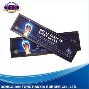 Custom Printing Anti-Slip Nitrile Rubber Bar Runner pictures & photos
