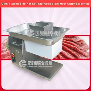 Qws-1 Ce Approved Small Size Desk-Top Meat Cutter Machine pictures & photos