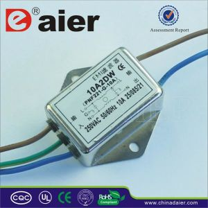 10A 220VAC AC EMI Line Filter pictures & photos