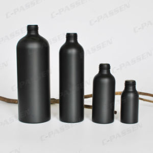 100ml Aluminum Sprayer Bottle in Matte Black Color (PPC-ACB-011) pictures & photos