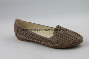Fashion Design Flat Footwear Slip on Lady Sexy Shoes pictures & photos