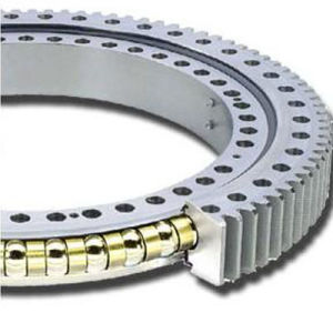 large cross roller external gear slew ring bearing for Hitachi pictures & photos