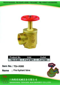 """Pressure Reduce Angle Hydrant Valve 2-1/2""""NPT==F2-1/2""""Nh pictures & photos"""