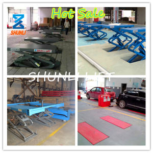 3.5t Car Scissor Lift (SHL-Y-J-35BS) pictures & photos