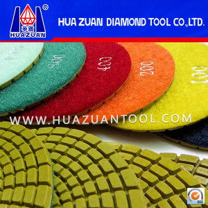 4 Inch Diamond Wet Flexible Pads Grinding Tool for Sale pictures & photos