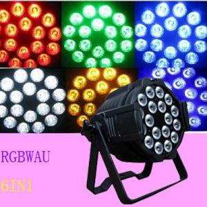 18PCS12W Rgbwau 6in1 LED PAR Light