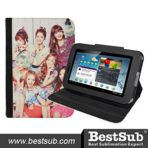 Bestsub Promotional Sublimation PU Tablet Case for Samsung P3100 (SSG37) pictures & photos