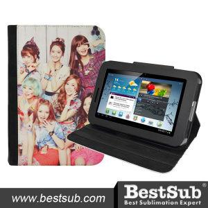 Bestsub Promotional Sublimation PU Tablet Case for Samsung P3100 (SSG37) pictures & photos