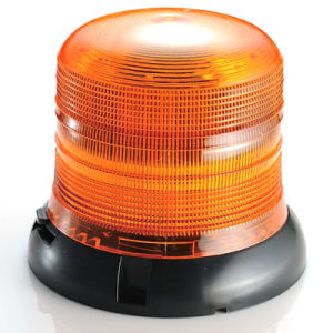 LED Big Power Super Bright Large Fireball Warning Beacon (HL-322 AMBER)