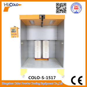 Manual Coating Booth with Two Filter pictures & photos