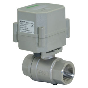 RoHS 2way 110-230V Stainless Steel Valve Timer Drain Controller Valve (S20-S2-C) pictures & photos