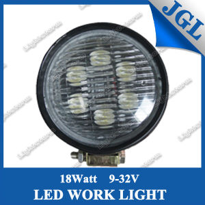 Rubber-Cover Built-in 18W LED Working Lamps for John Deere Tractor