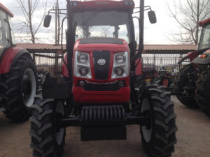100HP 120HP Farm Tractor with Air Conditioning Cabin pictures & photos