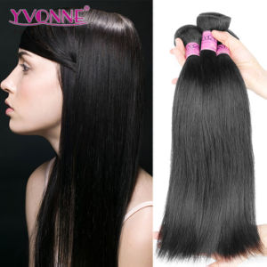 Brazilian Natural Straight Virgin Hair Remy Human Hair Extension pictures & photos