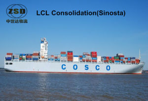 Sea Freight From Shenzhen/Shanghai to France (LCL consolidation)