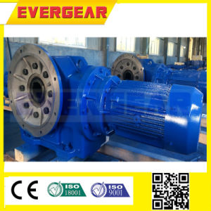 Bevel Helical Gearbox with Motor Shaft Mounted Gearbox Geared Motor pictures & photos