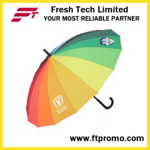OEM Company Gift Auto Open Straight Umbrella pictures & photos