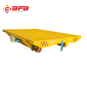 Precast Concrete Factory Using Electric Waterproof Rail Transfer Trolley (KPX-60T) pictures & photos