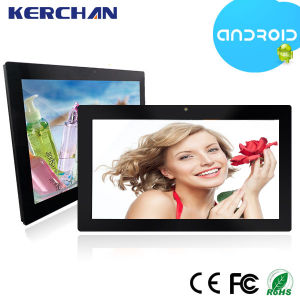 15.6 Inch Wall Mounted Android Tablet 1GB RAM, Loop Video Player