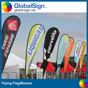 Customized Teardrop Flag for Advertising (Style B) pictures & photos