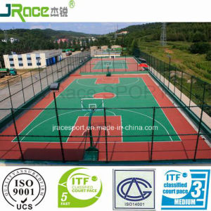 Environmental Friendly Material Basketball Court Covering Sport Surface pictures & photos
