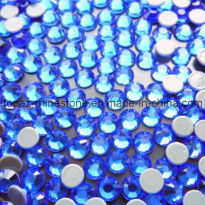 Top Quality Hot Fix Rhinestone Preciosa Crystal for Motif (SS10 Sapphire/4 grade) pictures & photos