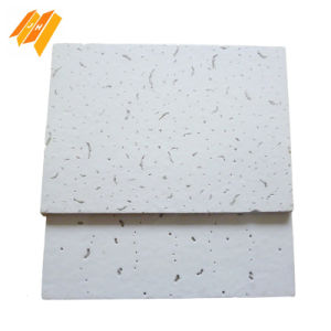 High Quality Sound Proof White Fiber Wool Decorative Board pictures & photos