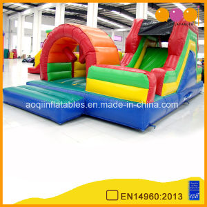Inflatable Obstacle Course with Slide for Sale (aq1495) pictures & photos