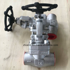 API602 Forged Stainless Steel F304L F316L Thread NPT Globe Valve