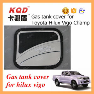 Car Fuel Tank Cover Body Kit for Toyota Hilux Accessories 2 Colors Gas Tank Cover Plastic Fuel Tank Hilux Vigo Fuel Tank Cap