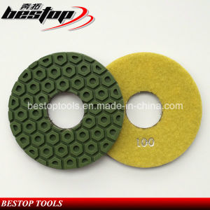 "D125mm 5"" Stone Polishing Pad for Granite and Marble Floor pictures & photos"