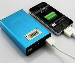 OEM New Protable Double USB Power Bank pictures & photos