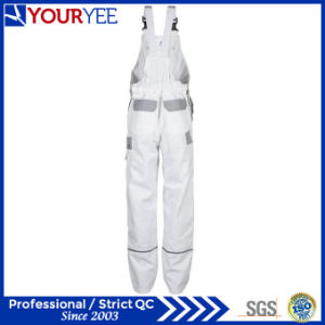 Custom White Painters Overalls with Knee Pads Holder (YBD118) pictures & photos