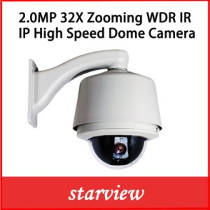 2.0MP 32X Zooming IP Outdoor Auto Focus High Speed Dome Network PTZ Dome Camera pictures & photos