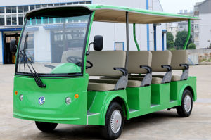 Hot Sale Good Performance 11 People Electric Sightseeing Bus pictures & photos