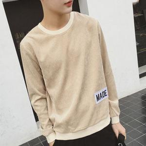 Bulk Wholesale 100% Cotton Plain Pink Hoodies for Men pictures & photos