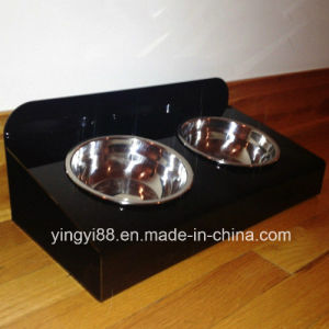 Best Selling Acrylic Raised Pet Feeder pictures & photos
