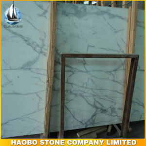 Snow White Marble Slabs on Sales pictures & photos