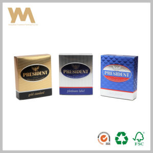 Export Cardboard Perfume Packing Box with Liner pictures & photos