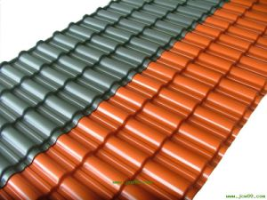 (color) Galvanized Roofing Steel Sheet pictures & photos