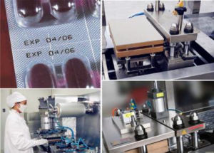 Flat-Plate Automatic Blister Packing Machine for Capsules Pills Tablets pictures & photos