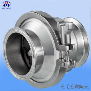 Sanitary Stainless Steel Clamped Check Valve (3A-No. RZ2104) pictures & photos