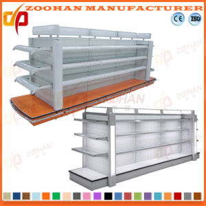 New Customized Supermarket Cosmetic Stand Glass Shelf (Zhs190) pictures & photos