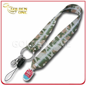 Promotion Gift Custom Design Full Printed Polyester Neck Lanyard pictures & photos