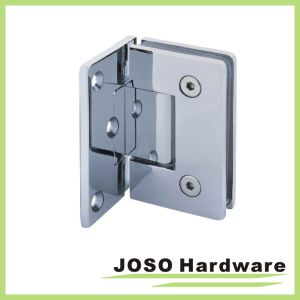 90 Degree Rectagular Glass to Wall Shower Door Hinge (BH1001A) pictures & photos