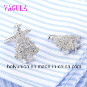 VAGULA Quality Hot Selling Christmas Tree Gemelos Cuff Links   (320) pictures & photos