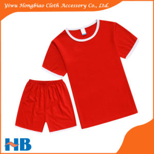Red Child Sport Suit New Arrival Garment