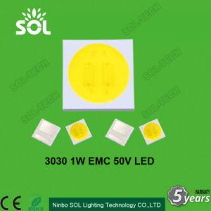 High Lumens 1W EMC 3V 6V 18V 50V 139-156lm SMD 3030 LED