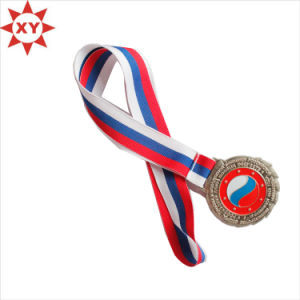 Beautiful High Quality Silk Screen Ribbon Medal Sport pictures & photos